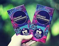 Gina's Midnight Hummingbird - Branding & Package Design