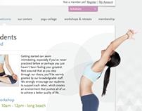 Purple Yoga Studio Website