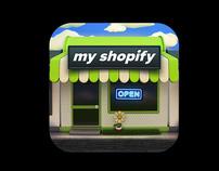 MyShopify IOS App icon