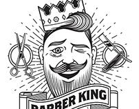 BARBER KING IDENTITY