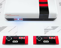 Old 16-bit NES redesigned