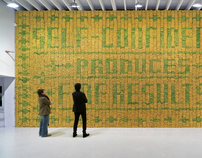 Deitch Projects Banana Wall