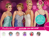 Audacious Prom Dresses website