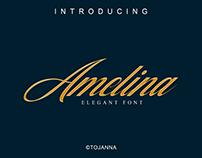 Amelina free elegant font