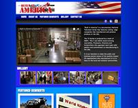 Built in America - Website Design