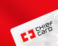 Chief Card logo & card design