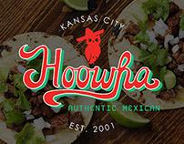 Hoowha Restaurant Branding
