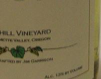 Garrison Rushton Wine Label