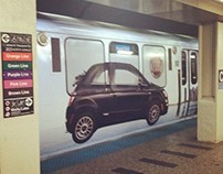 FIAT Chicago Train Wrap