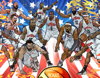 【NBA】 TEAM USA 2012 Olympic - Defend to the Death