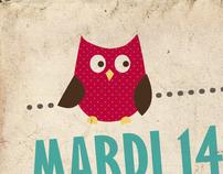 EDWIGE COFFEE & BERMUDAS - Poster Design