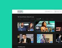 UI UX Nooreed | Career Orientation Platform