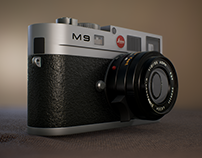 Unreal Engine4 : Product render (Leica M9)