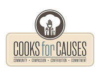 Cooks for Causes Identity Design