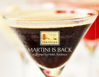 MARTINI IS BACK - Photography  & Booklet Design