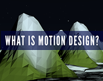 """What Is Motion Design?"""