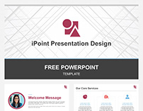 FREE POWERPOINT TEMPLATE - iPoint Presentation Design