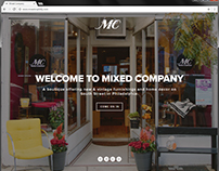 Mixed Company Website Design