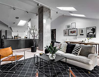 Frejgatan Apartment by DesignFolder
