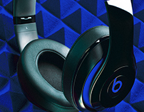 Beats test, product photography and digital retouch