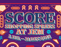 Jem® SHOPPING MALL JULY LUCKY DRAW 2015
