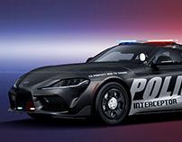 2020 Toyota Supra Police Interceptor
