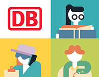 Deutsche Bahn Illustrations