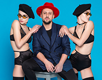 Monatik promo shoot starring Stasya Smerechevska