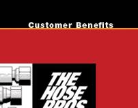 The Hose Pros, Website Design