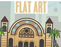 flat art (oran) algeria