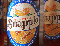 Snapple Packaging Redesign