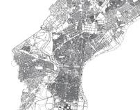 Philadelphia Vector Map