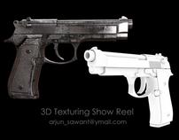 VXF Texturing Show Reel - Gun