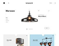 Online store page UI // страница сайта
