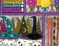 Witches' Wardrobe 1,000 piece jigsaw puzzle