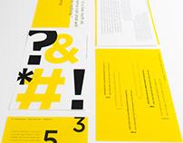 Typography Cardset: Gotham Gravity