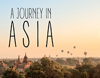 A journey in Asia : Travel video
