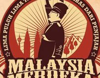 55th Malaysia Independent Day Logo