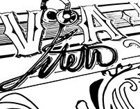 Savana Riot - Hand lettering