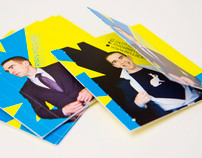 Whimsical, Superhero Themed, Interactive Business Card