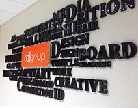 Typographic Wall Letters Design & Production