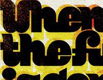 """Poster for """"Tous à Chaumont"""" Festival 2009"""