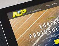 Logo et site internet responsive Groupe NP Acrobatique