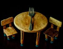 Forks: Symbol of Feast or Famine