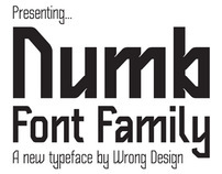 Numb Font Family