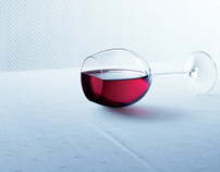 PRINT - Reckitt Benckiser, Vanish, Glass of Wine