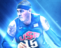 Carmelo Anthony Team USA Wallpaper
