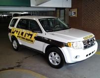 West Penn Hospital Police Car