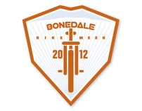 T-shirt design :: Bonedale Bike Week