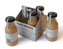 Café Frappé packaging